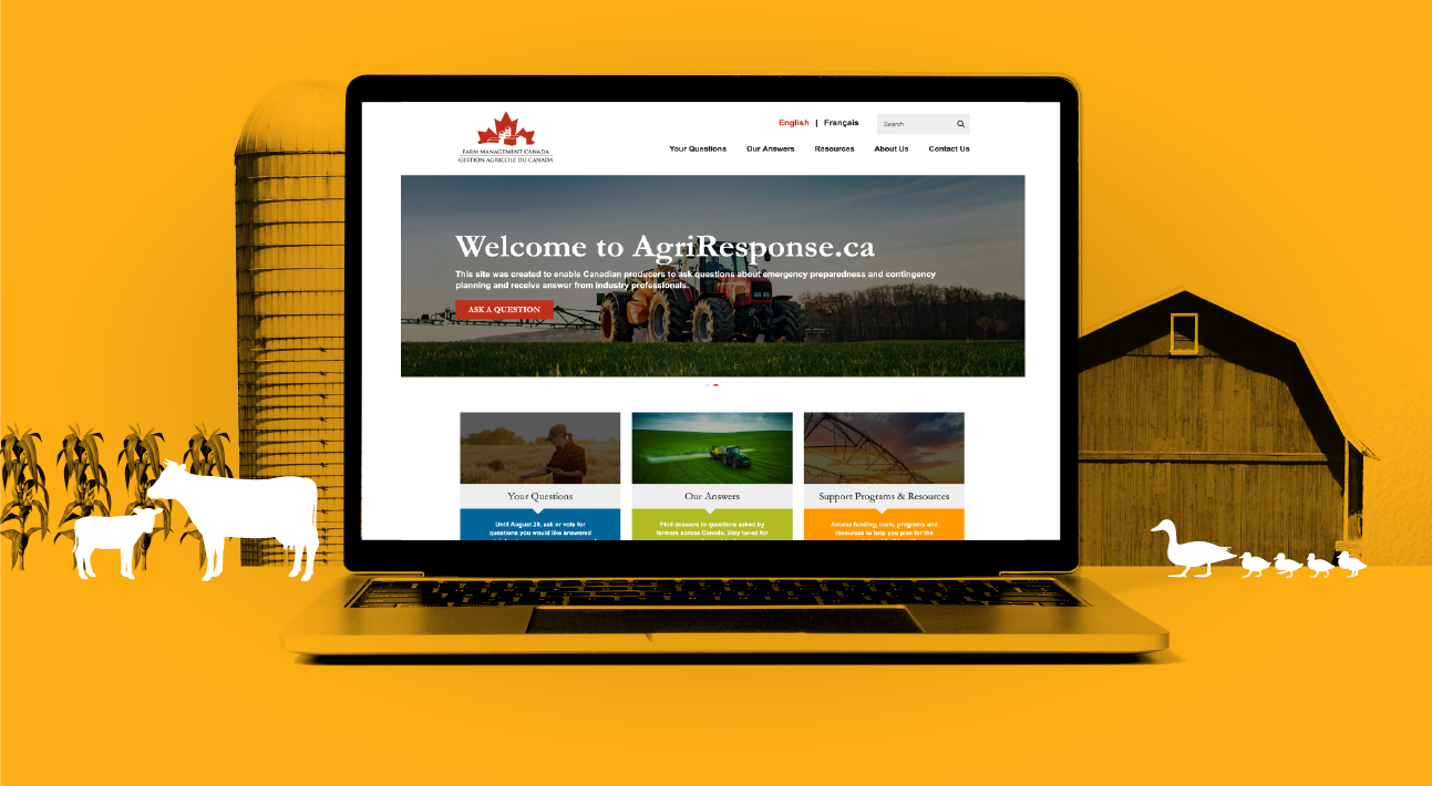 AgriResponse.ca: Enabling Canadian producers to be better prepared to face uncertainty